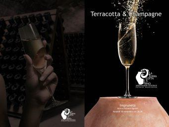 Cena degustazione Terracotta&Champagne: protagonisti lo champagne di Claude Giraud e la cucina di Filippo Saporito