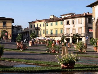 A Shuttle bus on 19 – 20 November from 9.30 to 19.00 hrs for Fornace Agresti, location of the event linking the squares of Impruneta where to park