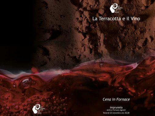 Cena in fornace da La Terracotta e il Vino 2018