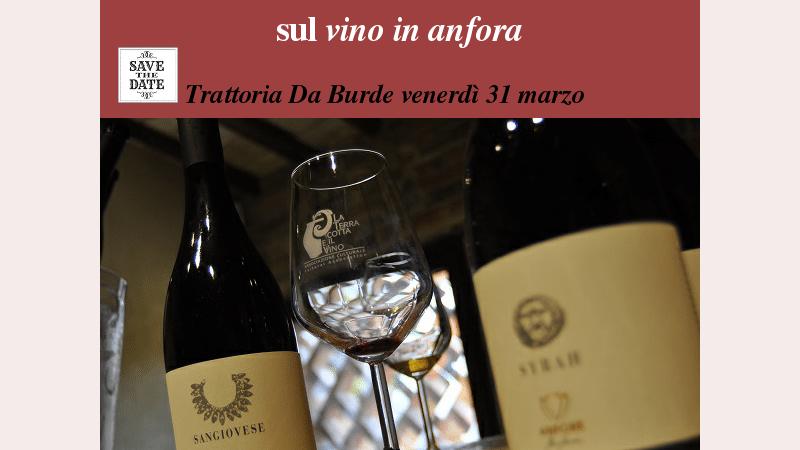 """Leonardo Parisi, Artenova dines with """"La terracotta e il vino"""" Friday March 31 at Da Burde in Florence"""