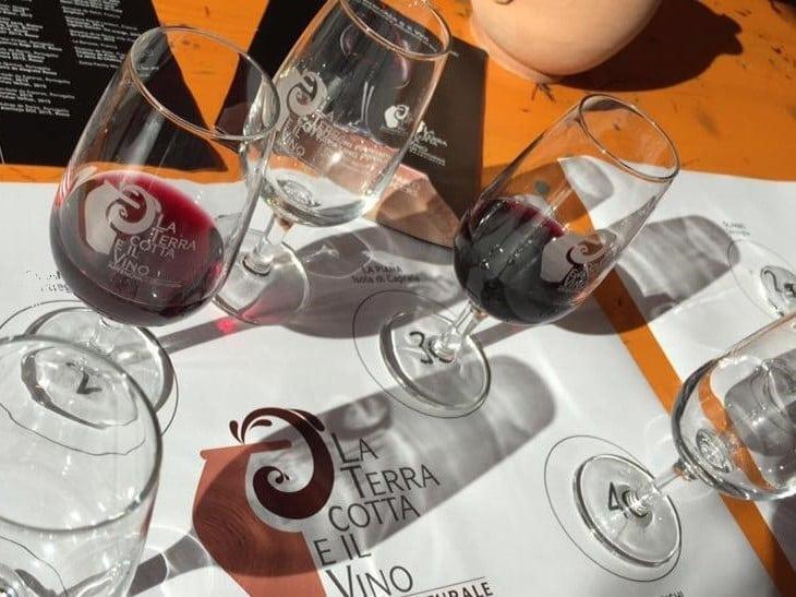 Il Menu della cena del 24 Maggio a La Bottega di Parigi e i vini in abbinamento: quando l'anfora rispetta la varietà, il territorio e il lavoro dell'uomo