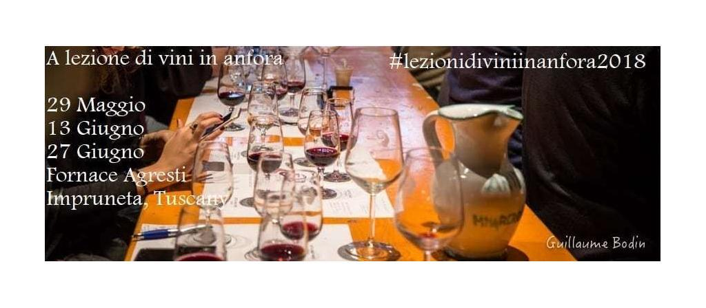 "The ""Tour of Italy in Amphora"" is back with more wine tasting sessions with the opportunity to learn about wine made in terracotta. Impruneta 29th May, 13th and 27th June 2018"