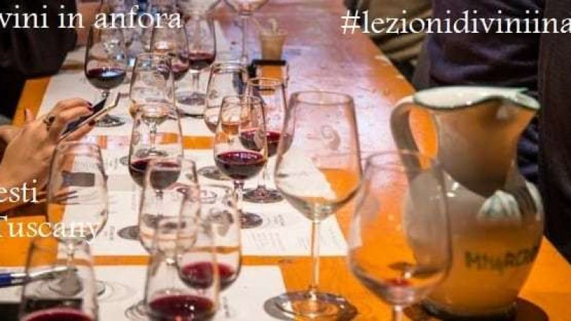 """The """"Tour of Italy in Amphora"""" is back with more wine tasting sessions with the opportunity to learn about wine made in terracotta. Impruneta 29th May, 13th and 27th June 2018"""