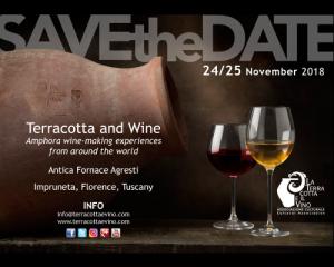 Save the Date Terracotta e Vino 2018