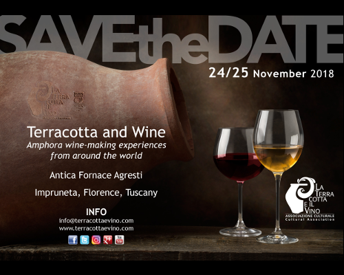 Save the Date Terracotta e Vino 2018