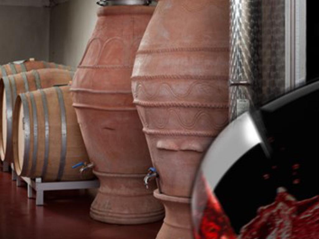 Confronto fra caratteristiche chimiche e sensoriali di Sangiovese e Cabernet Franc vinificati in anfora e in acciaio – Tania Martellini